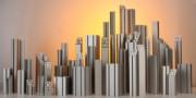Barre industrielle de construction - Infiniment flexibles - Hauteur réajustable et élargible