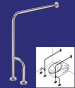 Barres d'appuis - Dimensions : (l x H) :  83 x 76 cm