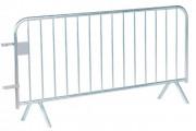 Barrière amovible de sécurité - Dimensions (L x H) m : 2 x 1,10