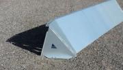 Barrière anti-inondation métallique 50cm - Matériau : 1,5 mm plaques de Magnelis acier