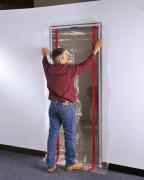 Barriere anti poussiere - Pour portes de dimensions (L x H) cm : 160 x 260