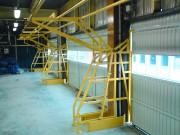 Barrière basculante pour plafonds bas - Passage de charges hautes pour un plafond bas