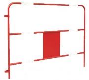 Barrière chantier - Longueur : 150 cm , Diamètre : 25 mm