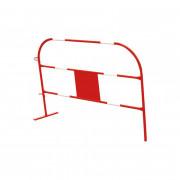 Barrière de chantier 150 cm - Longueur (mm) : 1500