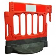 Barrière de chantier à base lestée - 25 Kg