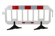 Barrière de chantier en polyéthylène 2000 x 1100 mm - Dimensions (L x l x H) mm : 2000 x 1000 x 50