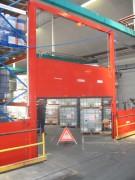 Barrière de confinement des eaux incendie - 2 versions manuel et automatique
