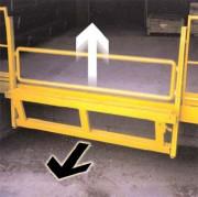 Barrière de fermeture mécanique - Empêche les chutes