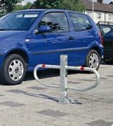 Barrière de parking 1 pied - Hauteur (mm) : 600