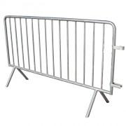 Barrière de police 250 cm - Longueur : 200 - 250 cm , Dimaètre : 33 mm