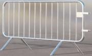 Barrière de police en acier longueur 2 mètres - Longueur en m : 2