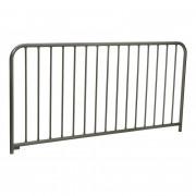 Barrière de police galvanisée - 2 Longueurs disponibles : 1027 - 2000 mm