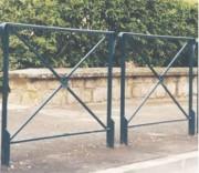Barrière de protection 1000 mm - Longueur (mm) : 1000 - 1600