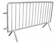 Barrière de protection amovible - Longueur (m) : 2