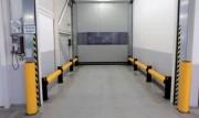 Barrière de protection d'entrepôt - Protection des cloisons et portes