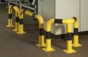Barrière de protection droit - Hauteur x longueur : 120x60 cm  - Tube Ø : 89 mm