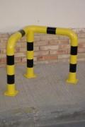Barrière de protection en acier - Acier - (L x l x H) 60 x 60 x 60 cm