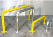 Barrière de protection externe ou interne - Tube diamètre : 76 mm - Finition : galvanisée ou laqué