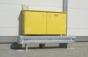 Barrière de protection modulaire - Fabriqué en acier galvanisé