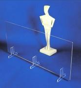 Barrière de protection plexiglas