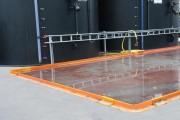 Barrière de rétention fixe permanente - Hauteur de retenue : 52 mm