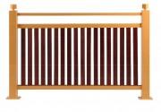 Barrière de rue en bois - Longueur (mm) : 1000 - 1500