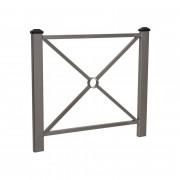 Barrière de rue poteaux surdimensionnés - Longueurs disponibles (mm) : 1080 ou 1580
