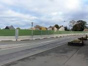 Barrière de sécurité 3 en 1 modulable - Stabilisateur et cadre métallique (Lxlxh) : 300 x 60 x 200 cm