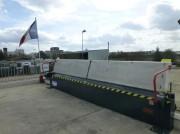 Barrière de sécurité anti chute - Déversoir assisté