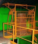 Barrière de sécurité basculante - Permet une liberté d'espace plus grande