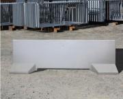 Barrière de sécurité béton - Du béton brut, matricé, peint ou lasuré au béton décoratif