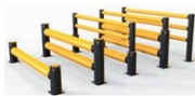 Barrière de sécurité industrielle renforcée - S'adapte en fonction de l'environnement chariots et des objectifs de protection