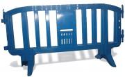 Barrière de sécurité plastique - Longueur : 2 m    -   Hauteur : 1 m
