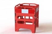 Barrière de sécurité pour chantier - Hauteur : 1000 mm