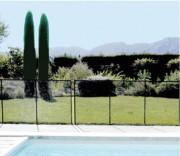 Barrière de sécurité souple pour piscine privée - Conforme à la norme NF P 90-306