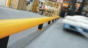 Barrière de sécurité zone à risque - Hauteur de la barrière de protection : 300 mm