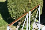 Barrière de style croisillon bois - Croisillon bois
