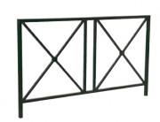 Barrière de trottoir - Longueur (m) : 0.95 - 2