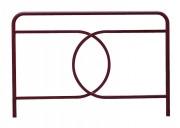 Barrière de ville fixe 150 cm - Longueur : 150 cm - Hauteur : 100 cm