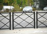 Barrière de ville losange 1500 mm - Longueur disponible (mm) : 1500