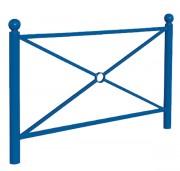 Barrière de ville simple ou grillagé - Longueurs (cm) : 107 - 157 - Modèle : Simple ou grillagé -