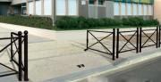 Barrière de ville tournante - Longueur : 1526 mm