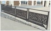 Barrière de ville Venise - Longueur : 1000 mm   -  Cadre : tôle découpée ép. 3 mm.