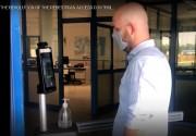 Terminal reconnaissance faciale avec contrôle température - Contrôle d'accès faciale