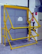 Barrière-écluse adaptée aux rideaux roulants - Intégrable à l'outil de production