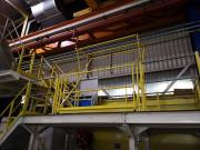 Barrière écluse basculante - Bardage aluminium et anti-intrusion