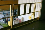 Barrière écluse basculante de Manutention - Pour manipulation de charges