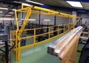 Barrière écluse basculante type SG1 sur mesure - Conforme aux normes en vigueur