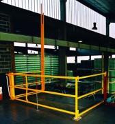 Barrière écluse de sécurité pour palettes - Pour diverses situations
