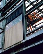 Barrière-écluse de sécurité semi-étanche - Pour la prévention des risques de chutes